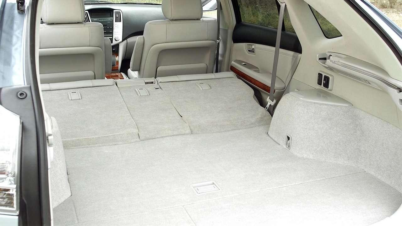 Багажник второго поколения Lexus RX