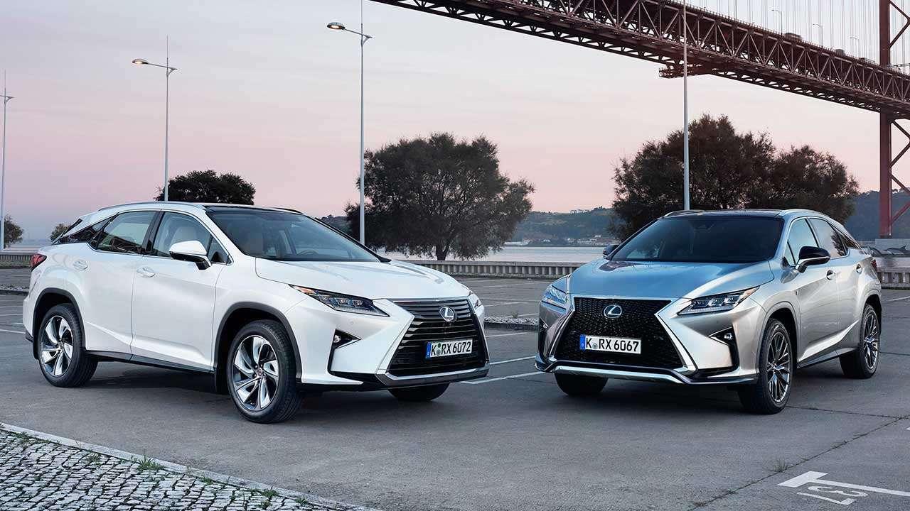 Фото двух Lexus RX 2019-2020