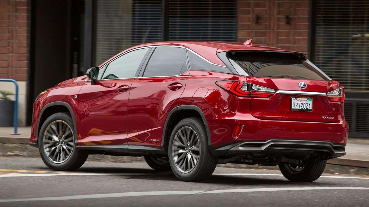 Lexus RX 350 2019-2020 фото сзади