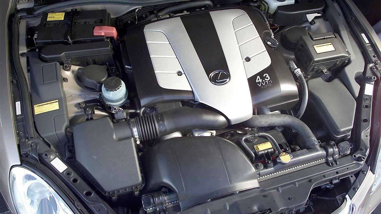 Фото двигателя Лексус SC430