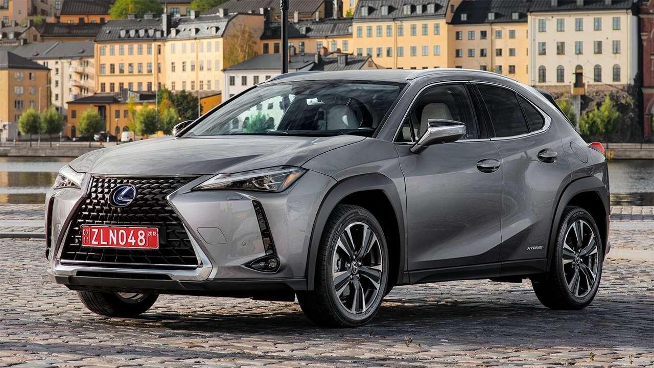 Передняя часть Lexus UX 2019-2020