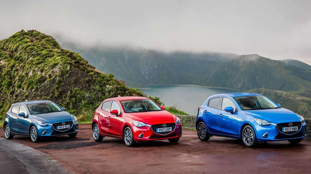 Три версии Mazda 2