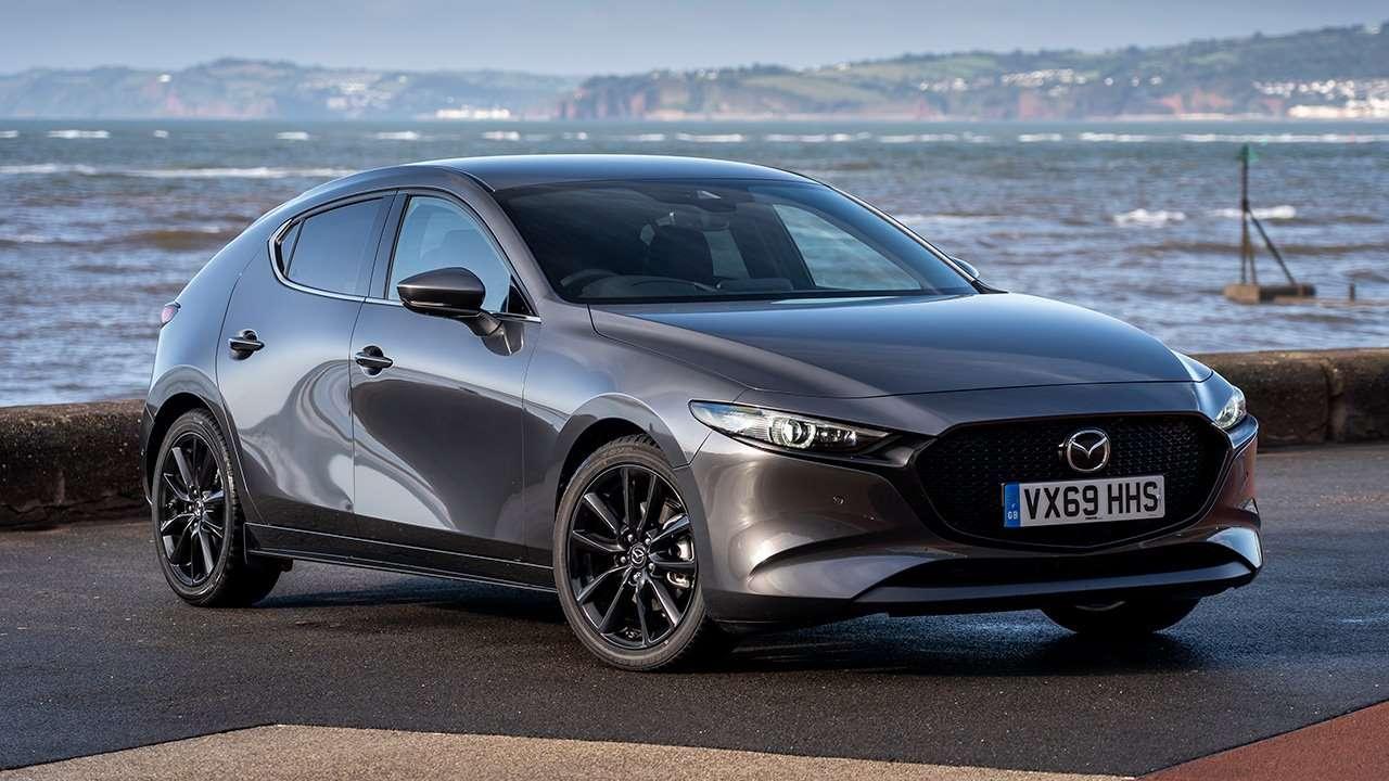 Mazda 3 2020-2021 фото спереди