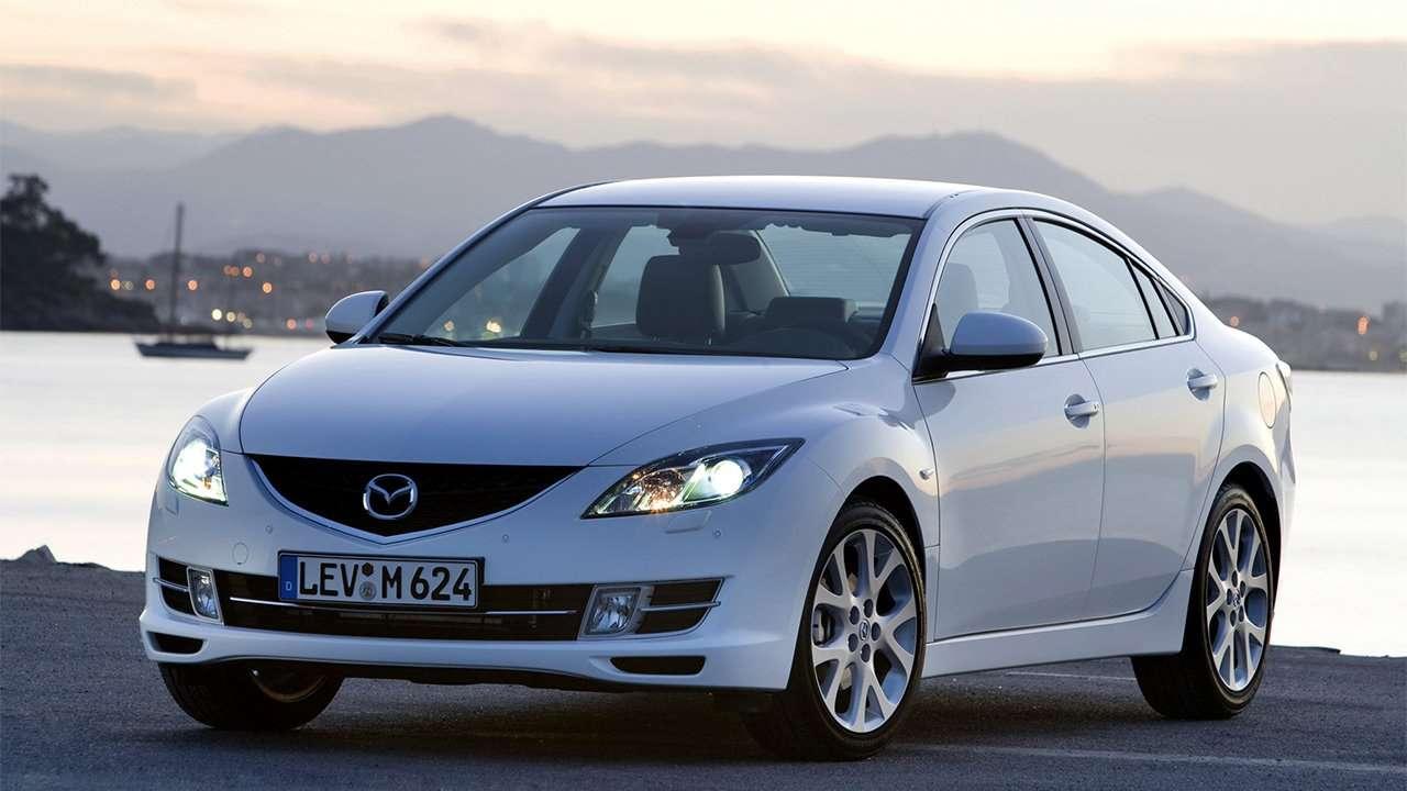 Mazda 6 GH фото спереди