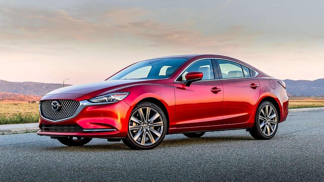 Mazda 6 2020-2021 GJ фото спереди