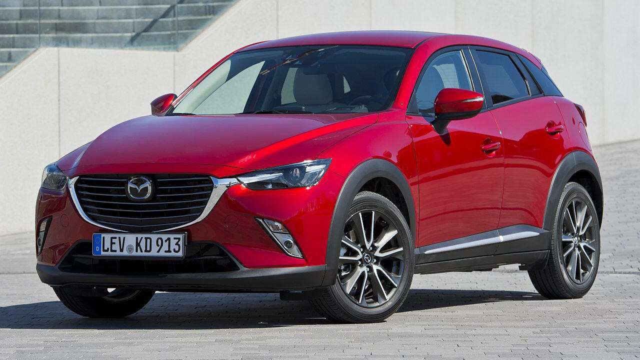 Mazda CX-3 2020-2021 фото спереди