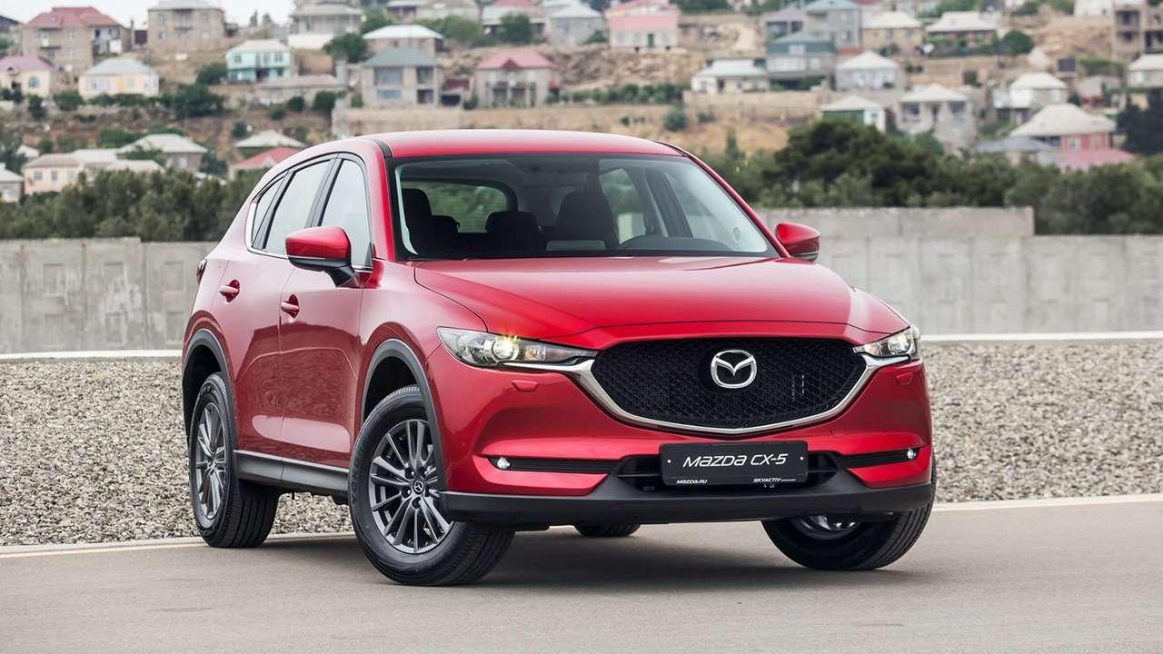 Mazda CX-5 2020-2021 фото спереди