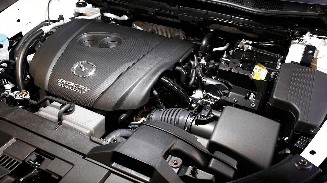 Фото двигателя Mazda CX-5 2020-2021