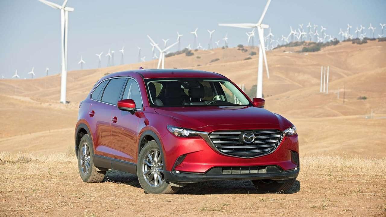 Mazda CX-9 2020-2021 фото спереди
