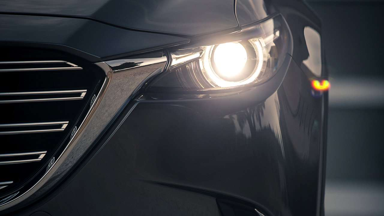 Mazda CX-9 2020-2021 передняя фара