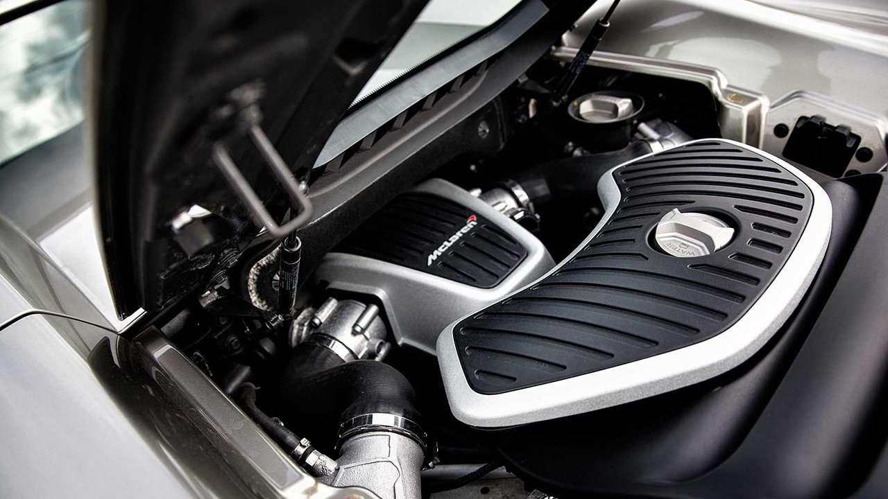 Двигатель МакЛарен 650С