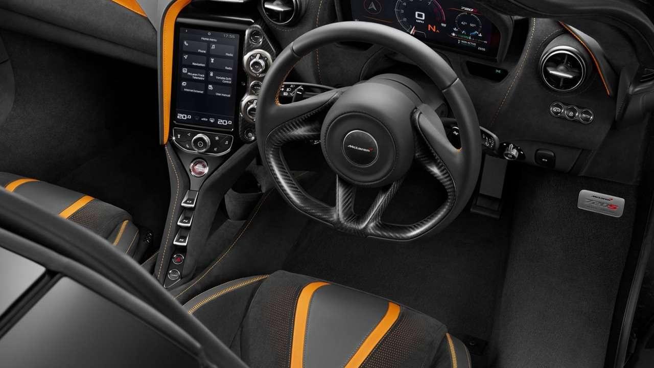 Салон McLaren 720S 2020-2021