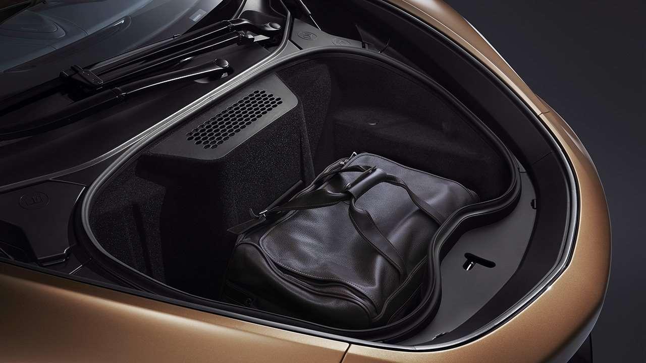 Передний багажник McLaren GT