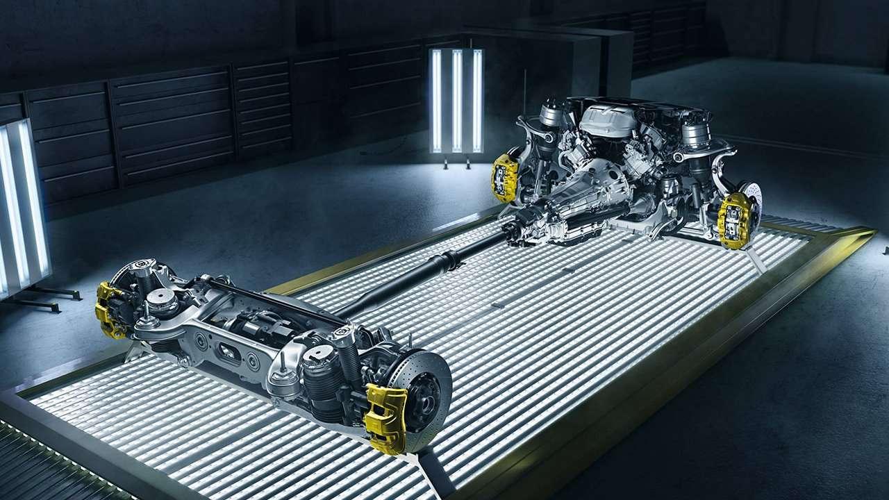 Подвеска Mercedes-AMG GT 4-door