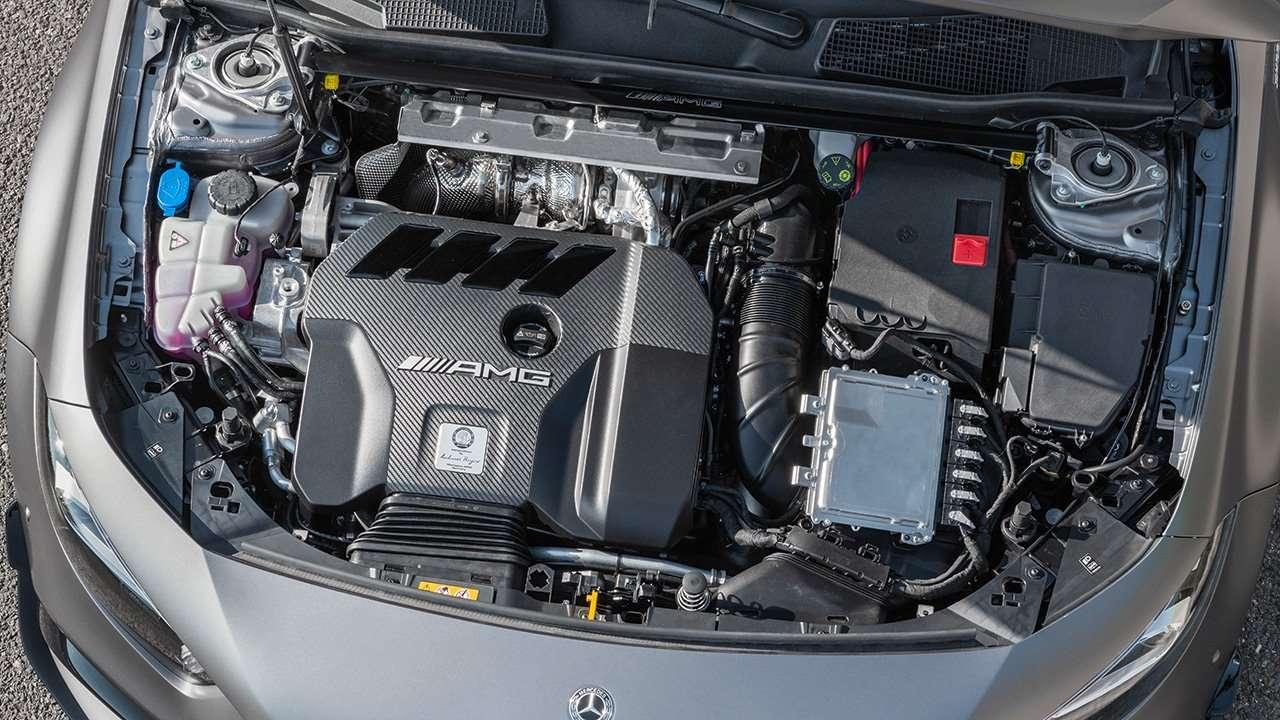 Топовый двигатель Мерседеса А45 АМГ