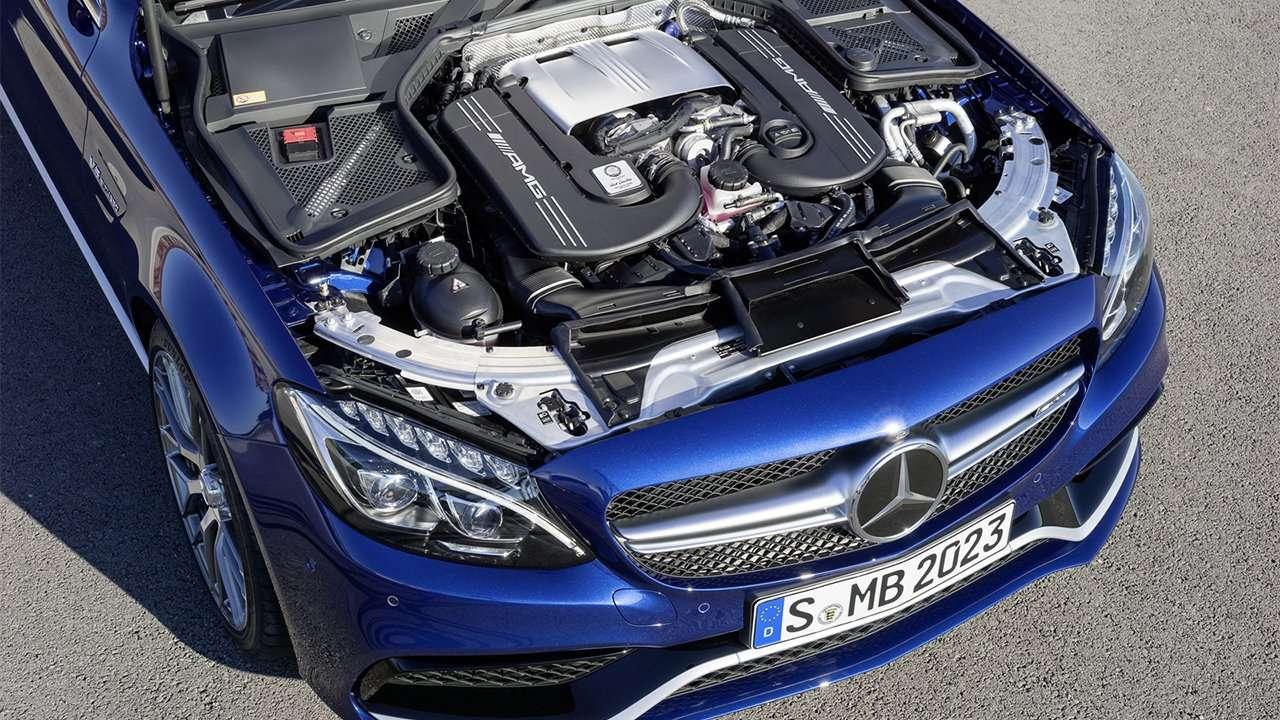 Двигатель Mercedes-Benz C-Class AMG W205