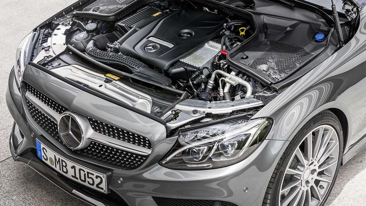 Двигатель Mercedes C-Class 2019-2020