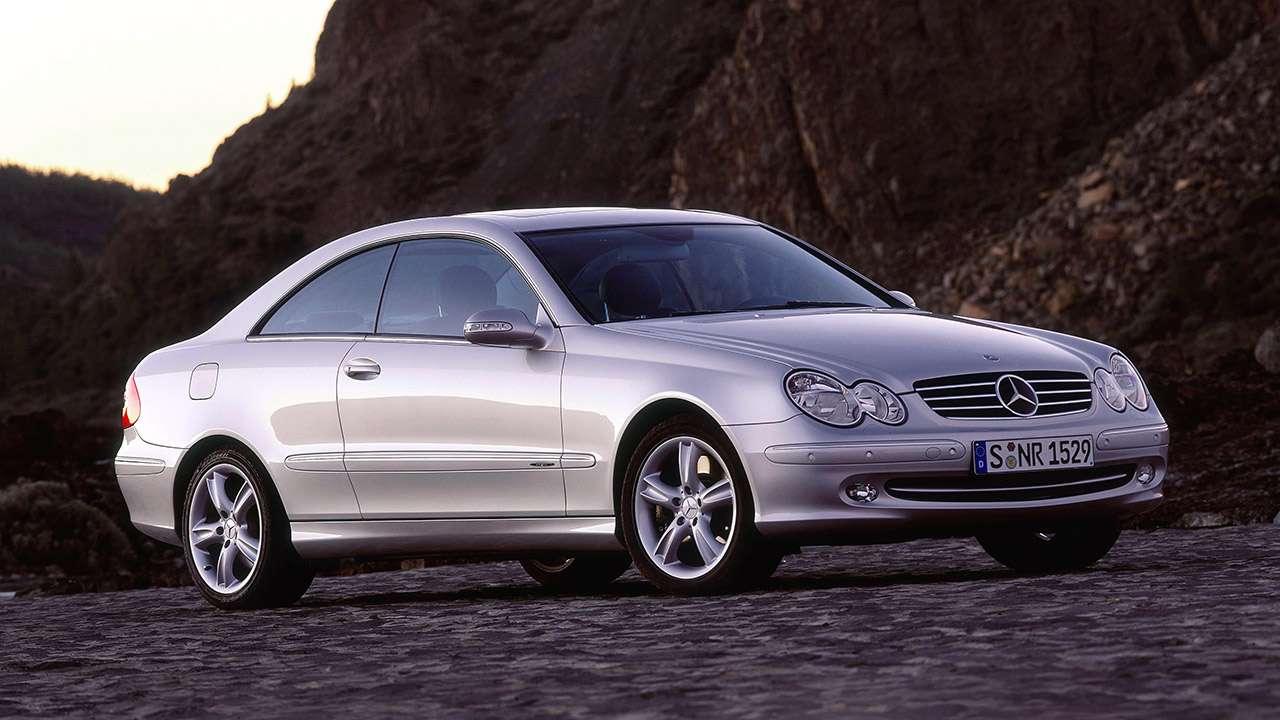 Передняя часть Mercedes-Benz CLK W209