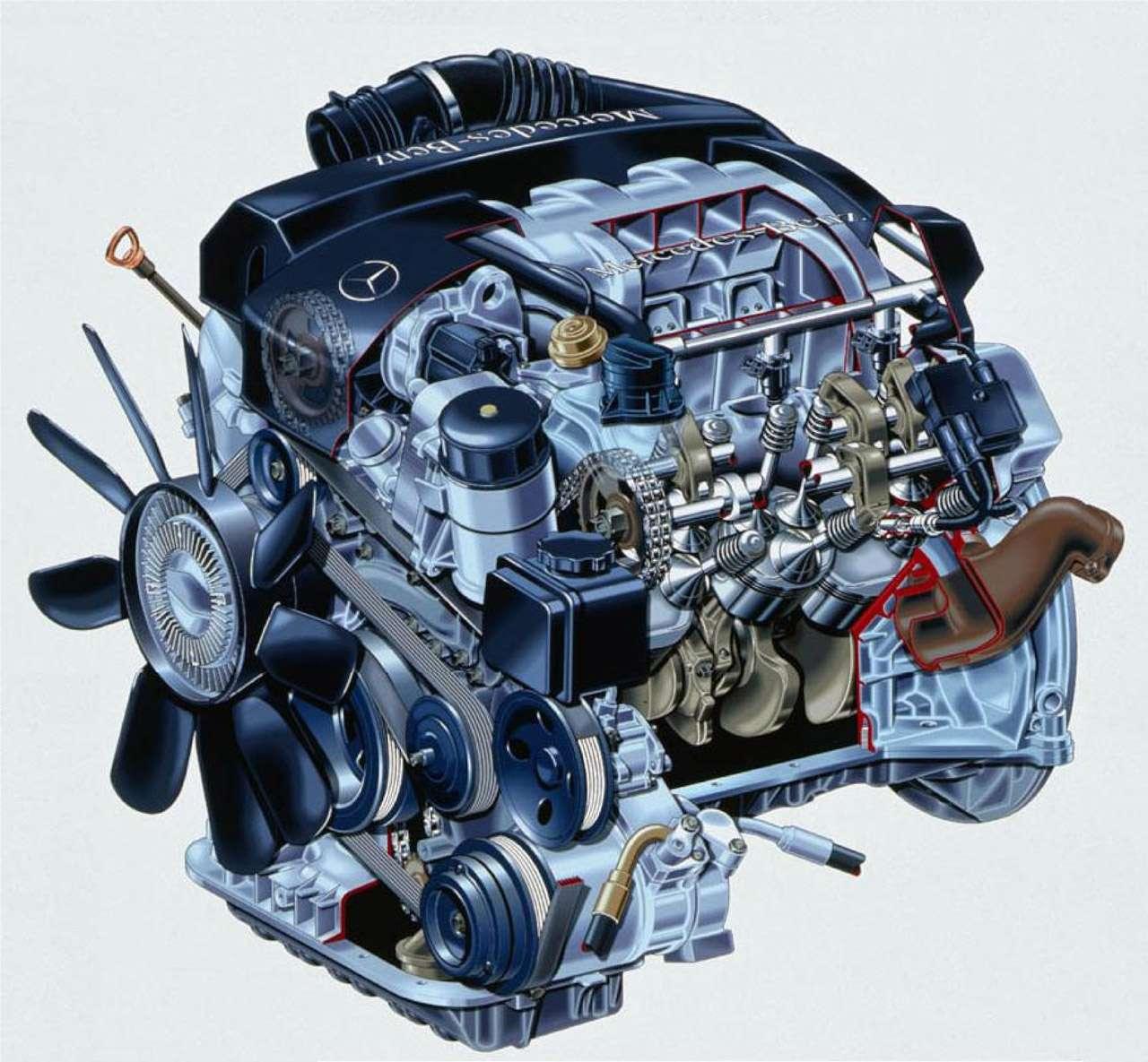 Двигатель M112