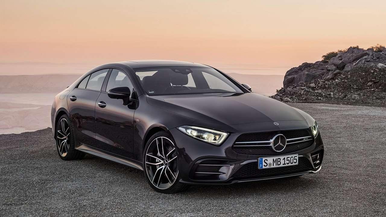 Черный Mercedes CLS 53 AMG