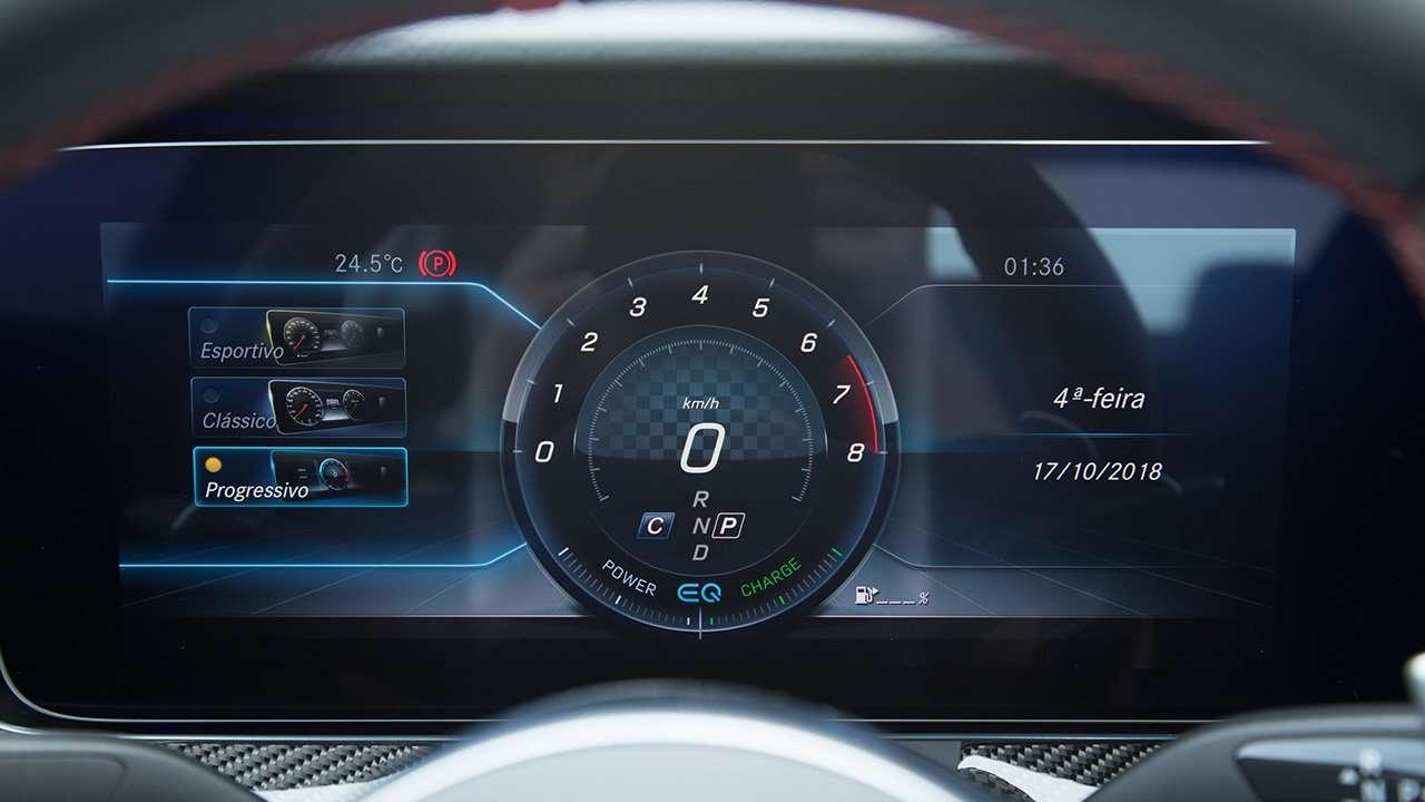 Дисплей за рулем ЦЛС 53 АМГ