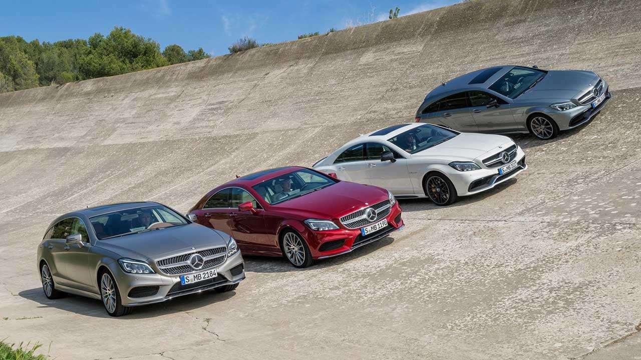 Версии Mercedes-Benz CLS C218