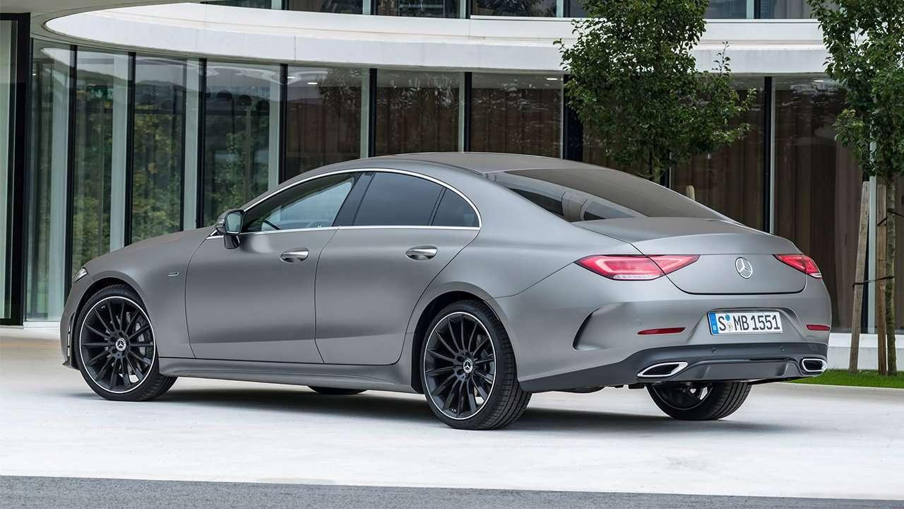 Mercedes-Benz CLS 2020-2021 фото сзади