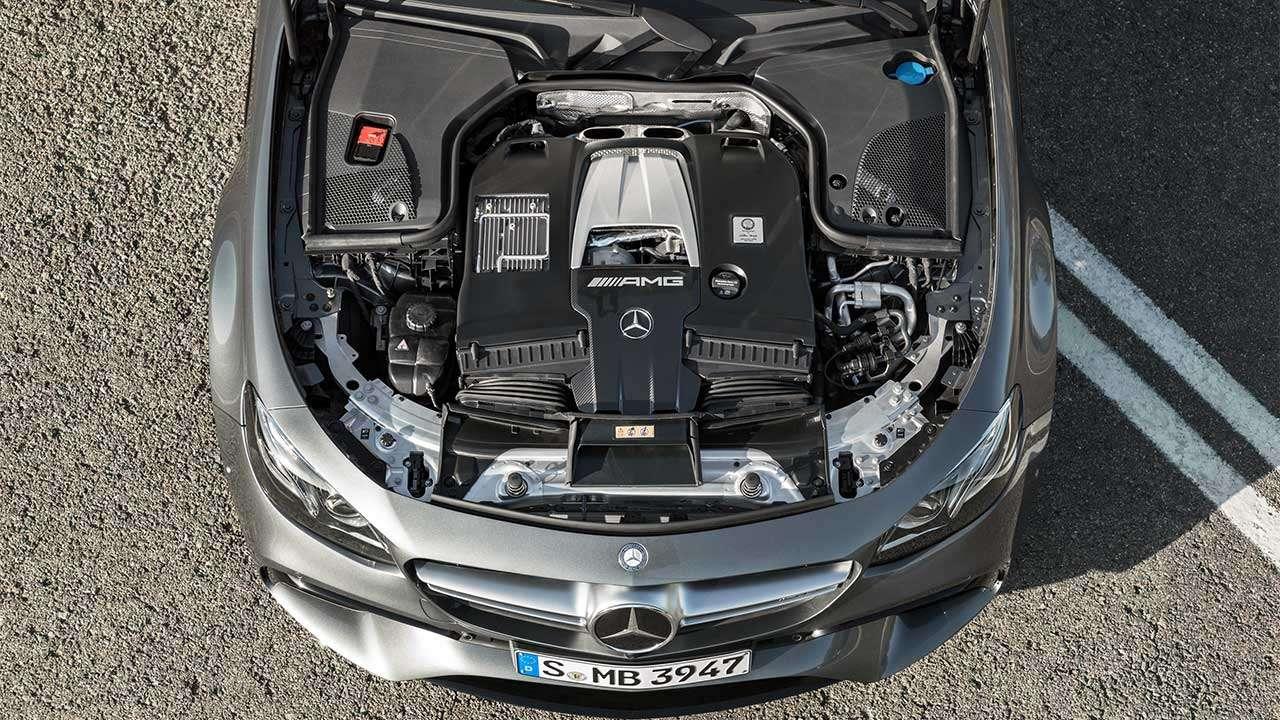 Двигатель Мерседеса Е63 АМГ