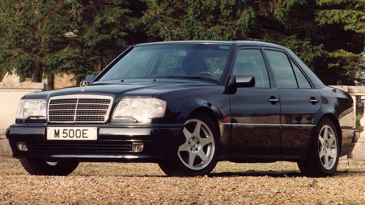 Легендарный E500 W124 Волчок