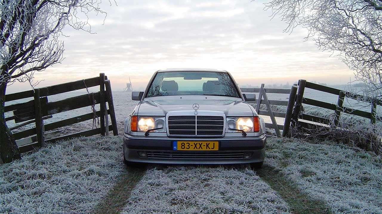 Передняя часть Мерседес W124