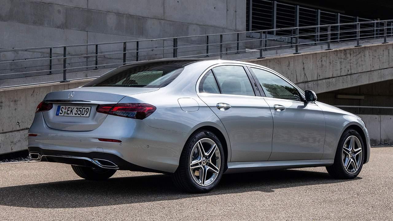 Корма нового Mercedes E-Class 2020-2021