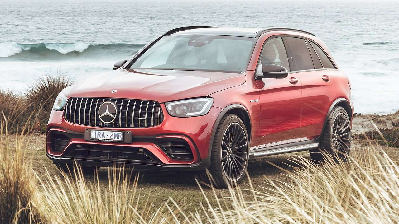 Mercedes-Benz GLC AMG 63s фото спереди