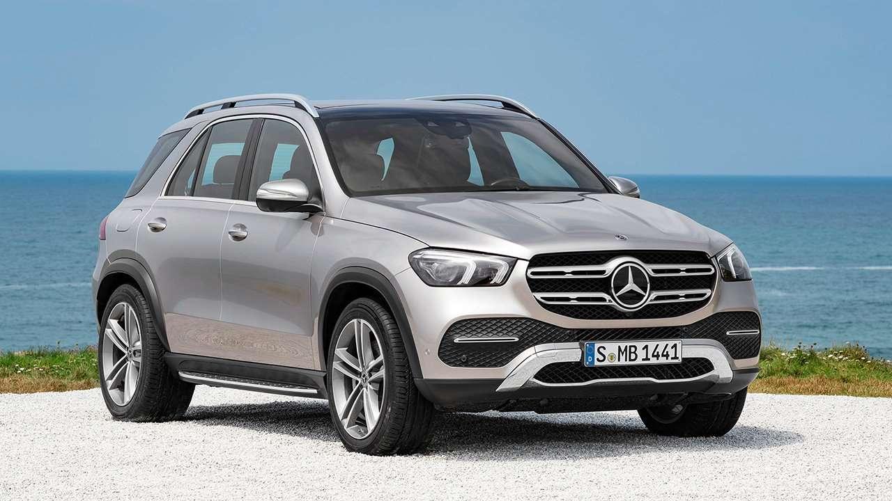 Mercedes-Benz GLE 2020-2021 фото спереди