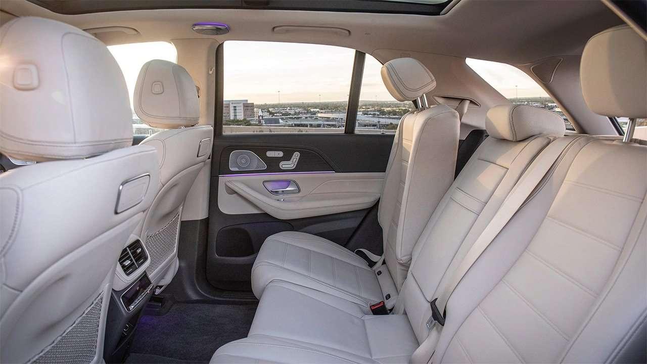 Задние сиденья Mercedes GLE 2020-2021