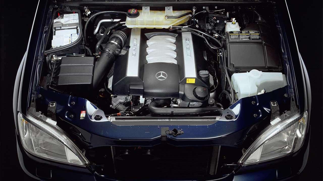 Мотор Mercedes ML55 AMG W163