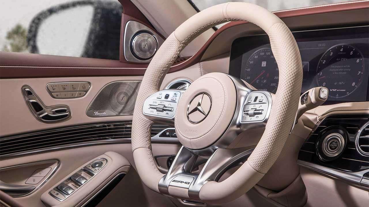 Руль нового S63 AMG