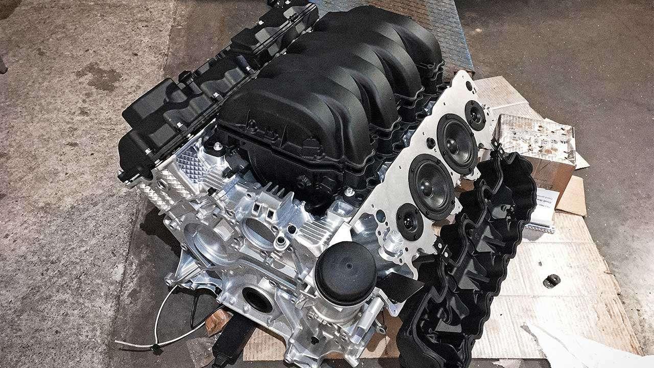 Фото двигателя M113