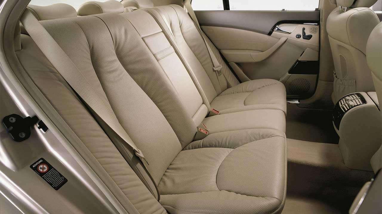 Задний диван Мерседеса С-Класса W220