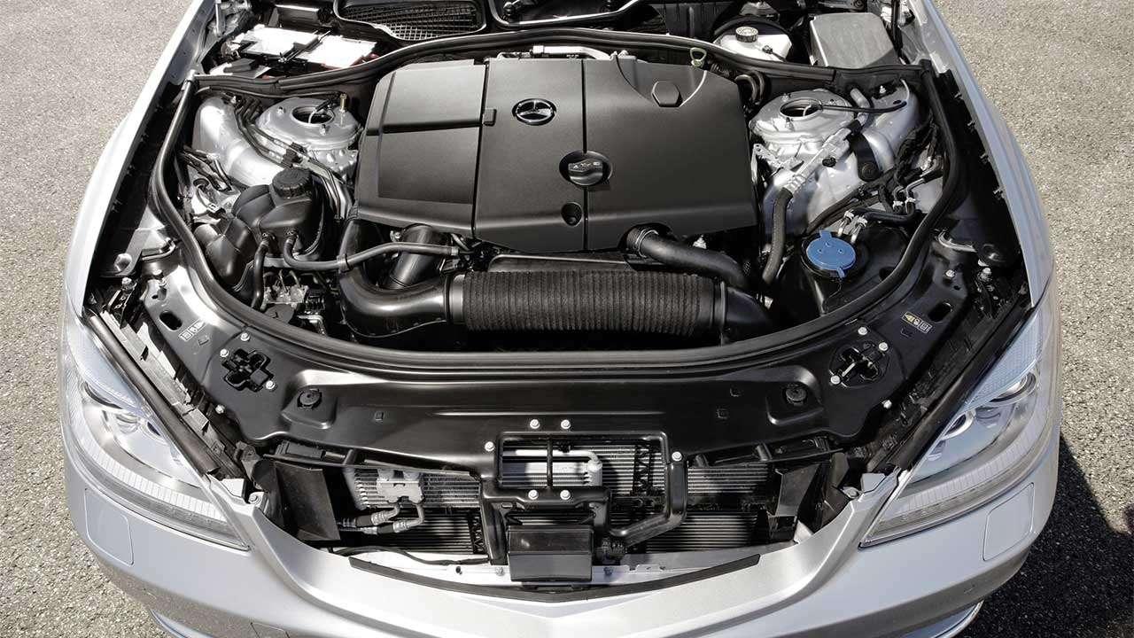 Дизельный мотор S-Class W221