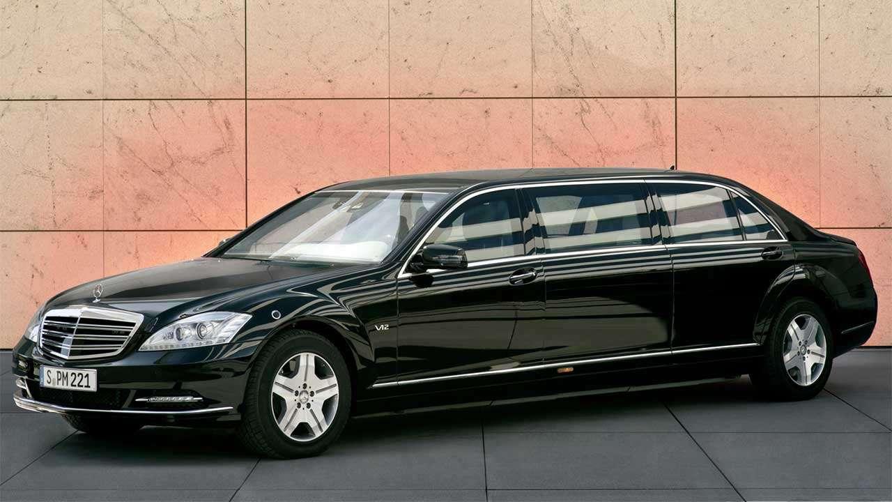 Mercedes S-Class W221 Pullman