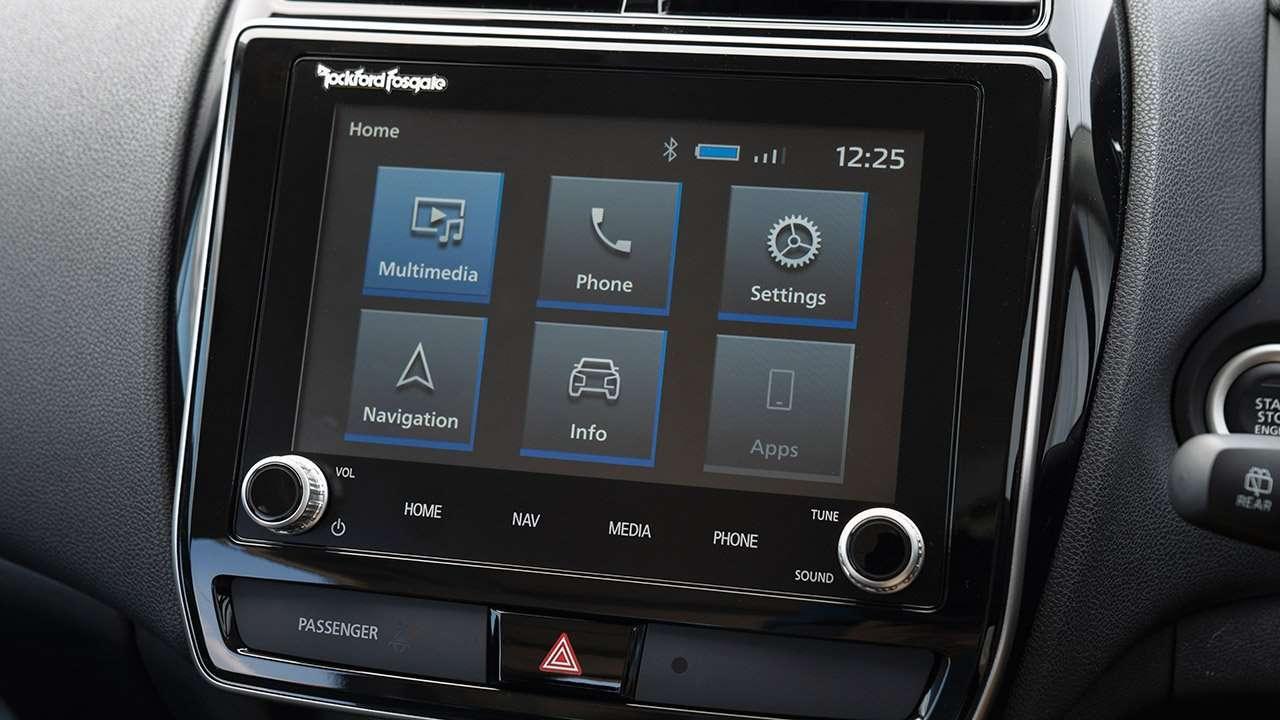 Максимальная мультимедиа Mitsubishi ASX