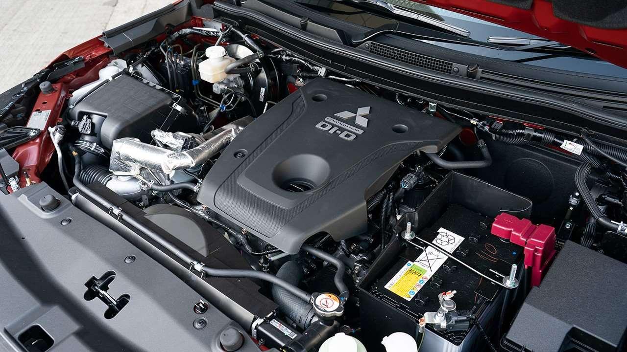 Двигатель Mitsubishi L200