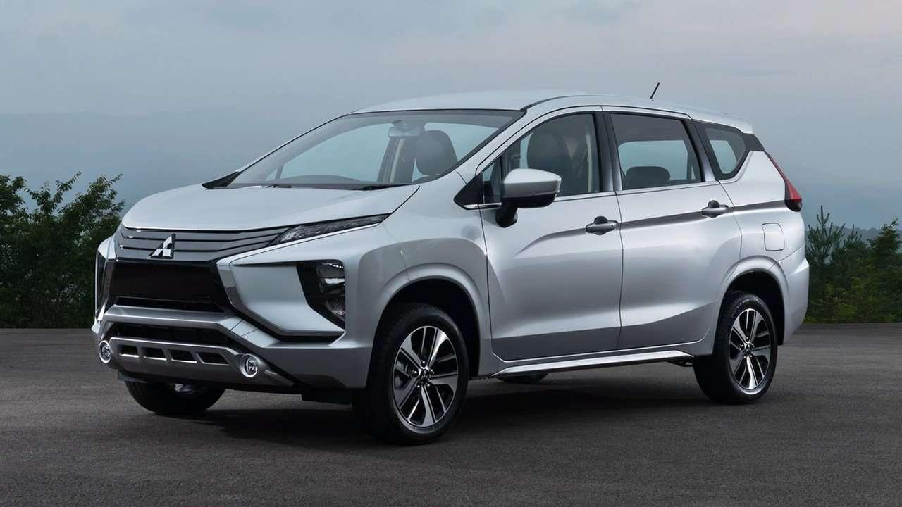 Передняя часть Mitsubishi Xpander 2019-2020