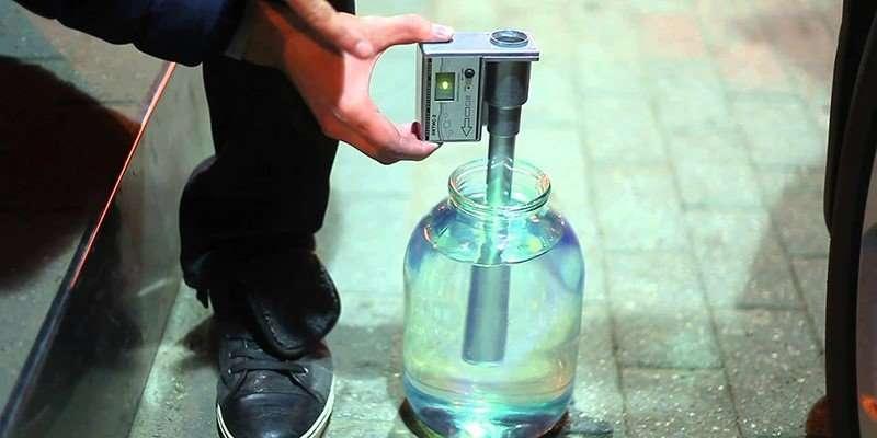 Прибор Октис-2 для проверки качества бензина