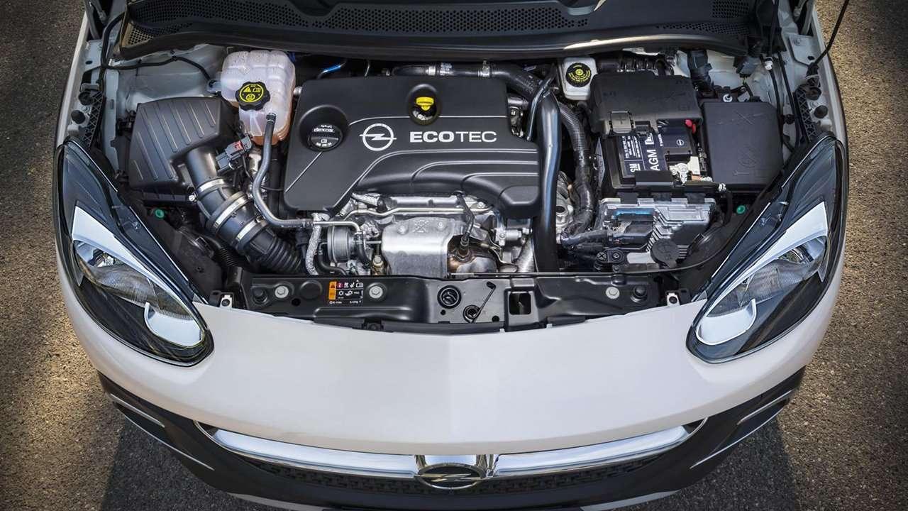 Двигатель Opel Adam