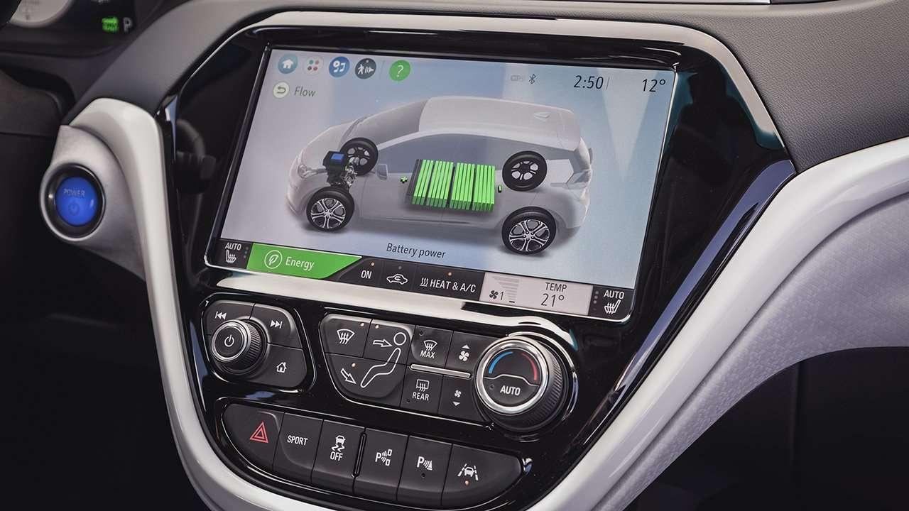 Центральная консоль Opel Ampera-e 2017