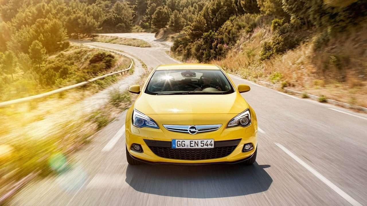 морда Opel Astra GTC