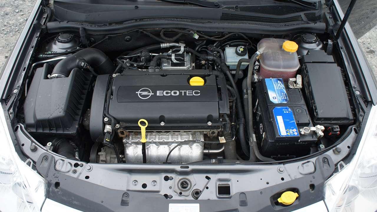 1,6-литровый мотор Astra H