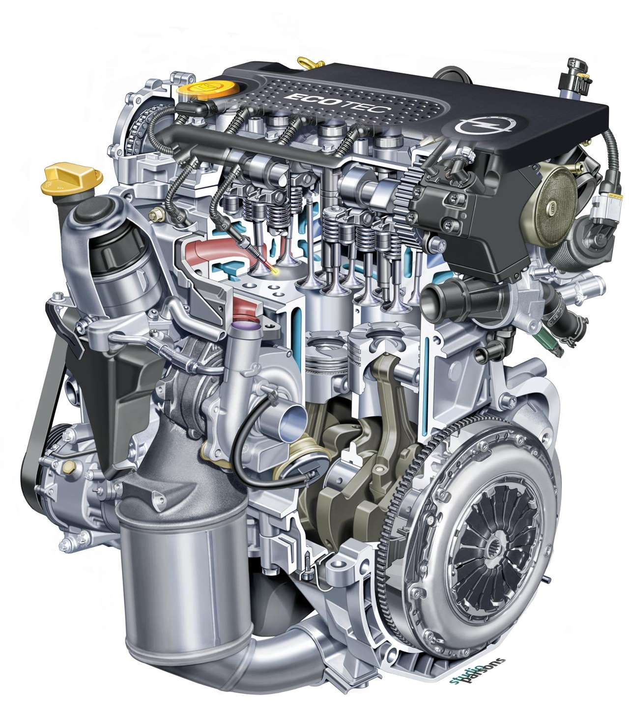 Дизельный мотор Астра Н