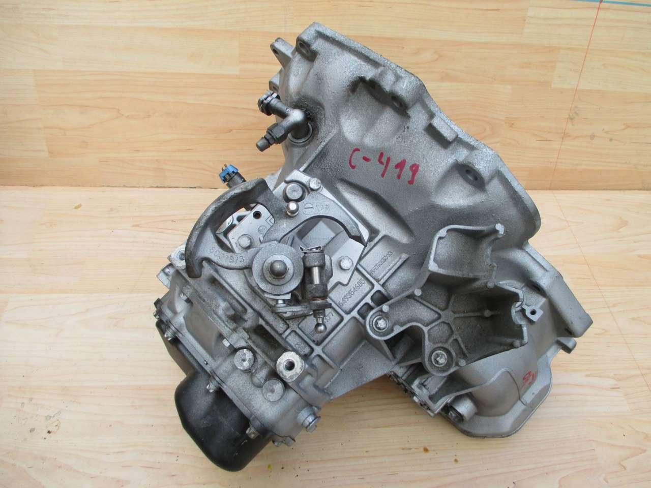 Механическая коробка F17